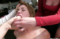 Sex lessons in the college sorority went wild watch hot lesbian orgy