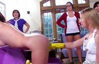 Kinky college babes are having wild fun