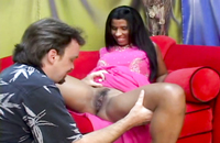Penetration of a hairy Indain pussy. Her sexy owner does not mind filming some porn.